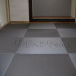 琉球畳ダイケン清流カラー 半畳市松敷き やわらかクッション付き
